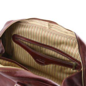 18a3dcf5b Tuscany Leather kožená cestovná taška Berlin – malá, červená